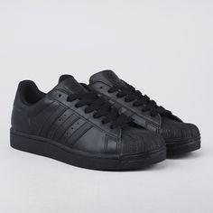Skor - Superstar II Black/Black/Black