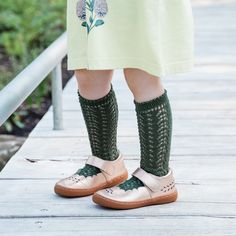 Forest Green Color, Sock Crafts, Boys Socks, Lace Socks, Knee High Socks, Winter Colors, Color Trends, Ankle Length, Beautiful Outfits