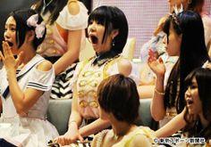 指原の1位に驚くHKT兒玉遥、SKE梅本まどかと、おそらく梅本の口の開きっぷりに驚いているSKE松本梨奈  //   ▼8Jun2013東スポ テレビで映らないAKB総選挙フォトギャラリー http://www.tokyo-sports.co.jp/entame/entertainment/157129/ #SKE48 #madokaumemoto #rinamatsumoto #HKT48 #harukakodama