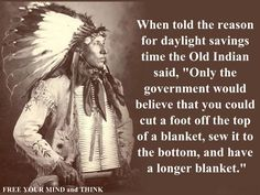 The ridiculousness of daylight savings...