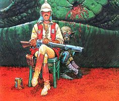Moebius - Major Grubert - Airtight Garage (1976)