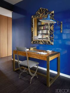 Craving a bold home office? Take a tour of the rest of this home.
