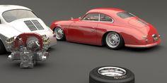 Porsche 356 custom by Bo Zolland