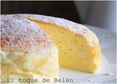 EL TOQUE DE BELÉN delights us with this special cake that only takes 3 ing … Flan, Sweet Recipes, Cake Recipes, Dessert Recipes, Cake Cookies, Cupcake Cakes, Pan Dulce, Eat Dessert First, Sin Gluten