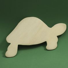 Unfinished Wood Turtle Cutout