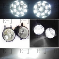24.36$  Watch now - http://alixvs.shopchina.info/go.php?t=32610264222 - 3000-10000K Lights DRL LED For LEXUS RX GYL1 GGL15 AGL10 450h AWD 350AWD 2008-2013 Fog Lamps White/Yellow/Blue 1 SET 81210-0D042 24.36$ #buymethat