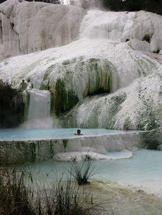 Fosso Bianco, Bagni San Filippo