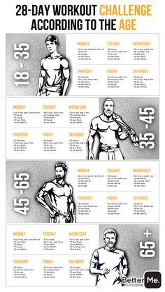 Home Workout Men, Workout Plan For Men, Abs Workout Routines, Gym Workout For Beginners, Gym Workout Tips, Workout Challenge, At Home Workouts, Bowflex Workout, Calisthenics Workout