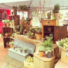 Flower Market Stall