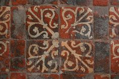 Floor Tiles at Winchester Cathedral 2 (Copyright Dave Halley 2011)  Hampshire, UK