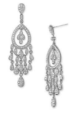 looking for the right pair of chandelier earrings for my shows..