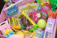 Toddler Easter Baskets (Non-Traditional)