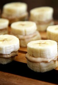 Looking for a healthy and fun snack? Try making some frozen bananas with almond, peanut, cashew butter!