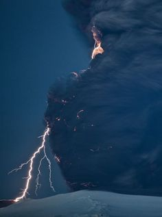 Mother Nature's Fury! A tornado with lots of lightening!