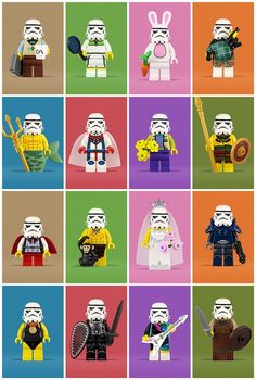 LEGO disfraz