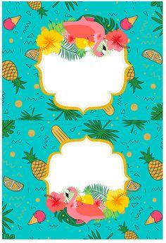 Uau! Veja o que temos para Cartao Agradecimento de mesa Flamingo Tropical Flamingo Party, Flamingo Birthday, Flamingo Wallpaper, Tropical Wallpaper, Printable Crafts, Printable Invitations, Printables, Tiki Hawaii, Hawaian Party