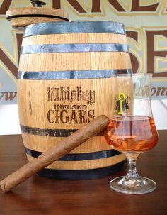 Barrel Infused Cigars are a TASTEFUL addition to any special event!