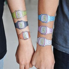 These are the coolest temporary tattoos I have ever seen!