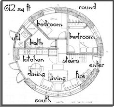 This is a nice plan as well, I really like the interior layout. Remember to look through the whole page as there are some interesting ideas associated with this design including a cool half moon kitchen island/bar table.