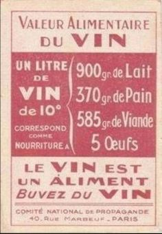 Wine: nutritious and delicious!