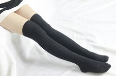 These cozy boot socks are very suitable for peeking out of boots,Stylish to wear with boots, booties, over stockings, jeans,leggings or skinny pants.      Oders over $25 free shipping!!!  Coupon Code:55555    Description  Condition: New  Material:Cotton  Style: sock    Size:  Length (heel up to top) : 19.8'' (no streched )  Fits shoe size : 6.5''-10.0''  Circumference of item (rib top) :<15.7''  ALL MEASUREMENTS ARE NOT EXACT AS ITEMS ARE KNIT AND DO     Model Height: 162 cm…