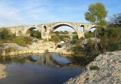 Pont Julien - roman bridge on the Via Domitia - 84480 Bonnieux, D36, 5km from the village