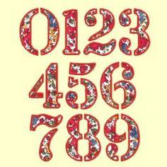 Alphabet en appliqué - 3 tailles