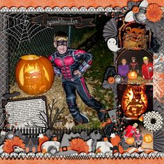 Template: Stand Out Volume 7 by Meagan's Creations  Kit: Happy Hauntings by Meagan's Creations