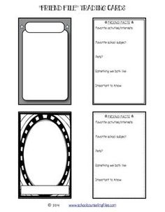 Printable Trading Card Template   Click here: trading_card ...