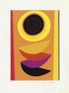 Terry Frost , Spiral for Sun (Kemp St Ives, Cornwall, Modern Contemporary, Spiral, Frost, Abstract Art, Auction, My Arts, British