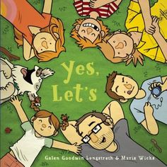 Relates, through illustrations and simple, rhyming text, a family's day in the woods, including a hike, swimming, and a picnic.