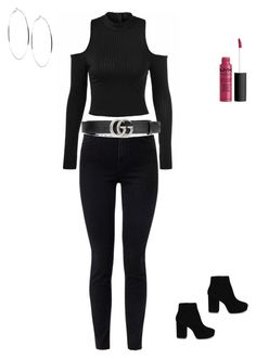 """Gucci"" by bvbyaria on Polyvore featuring J Brand, Gucci, ALDO, Forever 21 and GUESS"