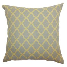 Heather Pillow in Grey at Joss & Main