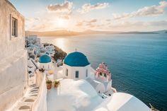 Inselhopping Kykladen Griechenland Santorini Sonnenaufgang Skiathos, Samos, Thessaloniki, Zakynthos, Santorini, Greece, In This Moment, Crown, Small Island