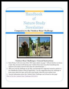 Handbook of Nature Study June 2014 Newsletter. Topic: Nature Photography. Thanks to @Jamie Wise Worley @Angie Wimberly Wright and @Alex Jones Dk for contributing to this edition of the newsletter.