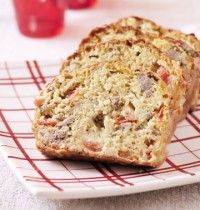 Photo de la recette : Cake au thon, tomates et curry