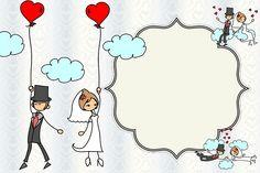 Imprimibles para bodas 4. | Ideas y material gratis para fiestas y celebraciones Oh My Fiesta!