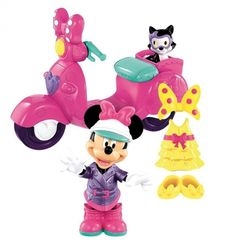 Jouet Disney fille : Minnie et son scooter Fisher Price Minnie Mouse Toys, Mickey Mouse Clubhouse, Little Girl Toys, Toys For Girls, Toys R Us, Fisher Price, Toddler Toys, Kids Toys, Best Scooter