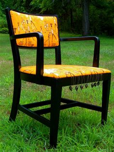 This chair was sold at the Owatonna arts festival.  It's one of my first chairs, and a favorite!