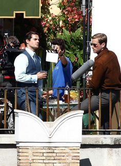 Henry Cavill Photos: 'The Man from U.N.C.L.E.' Films in Rome