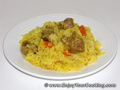 african food recipes | Pork Pilaf Recipe