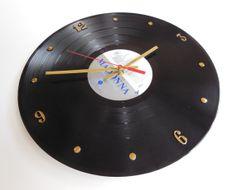 MADONNA Record Clock True Blue by RecordsAndStuff on Etsy, $24.00