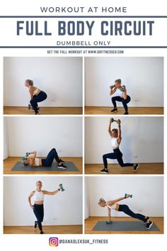 At-Home Friendly Full Body Circuit