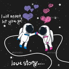 Buy Love Story of Boy and Girl Astronauts in Space by krasavec on GraphicRiver. Love story of boy and girl astronauts in space. Astronaut Cartoon, Astronaut Drawing, Astronaut Illustration, Space Illustration, Cute Panda Wallpaper, Wallpaper Iphone Cute, Aesthetic Iphone Wallpaper, Panda Wallpapers, Pretty Wallpapers