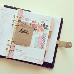 The perfect journal for me- stylish, beautiful and funny but still looking simple and elegant.