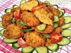 Kuracie fašírky s maslovou tekvicou a batátmi (fotorecept) Zucchini, Meat, Chicken, Vegetables, Vegetable Recipes, Veggies, Cubs
