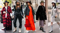 Showgoers Wore Statement Hats on Day 3 of Paris Fashion Week. Bucket hats, berets, wide brims and more. Street Style Summer, Autumn Street Style, Street Style Looks, Fashion Kids, Paris Fashion, Fashion Fashion, Rick Owens, Isabel Marant, Chloe