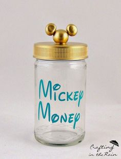 Make this jar as a Christmas gift to everyone going on the trip so they can save up!