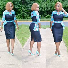 Checkout These Classy And Up-to-Date Ankara Styles; You Would Be Glad You Did - Wedding Digest Naija African Dresses For Women, African Print Dresses, African Print Fashion, Africa Fashion, African Attire, African Wear, African Fashion Dresses, African Women, Ghanaian Fashion