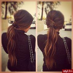 pony tail ♥